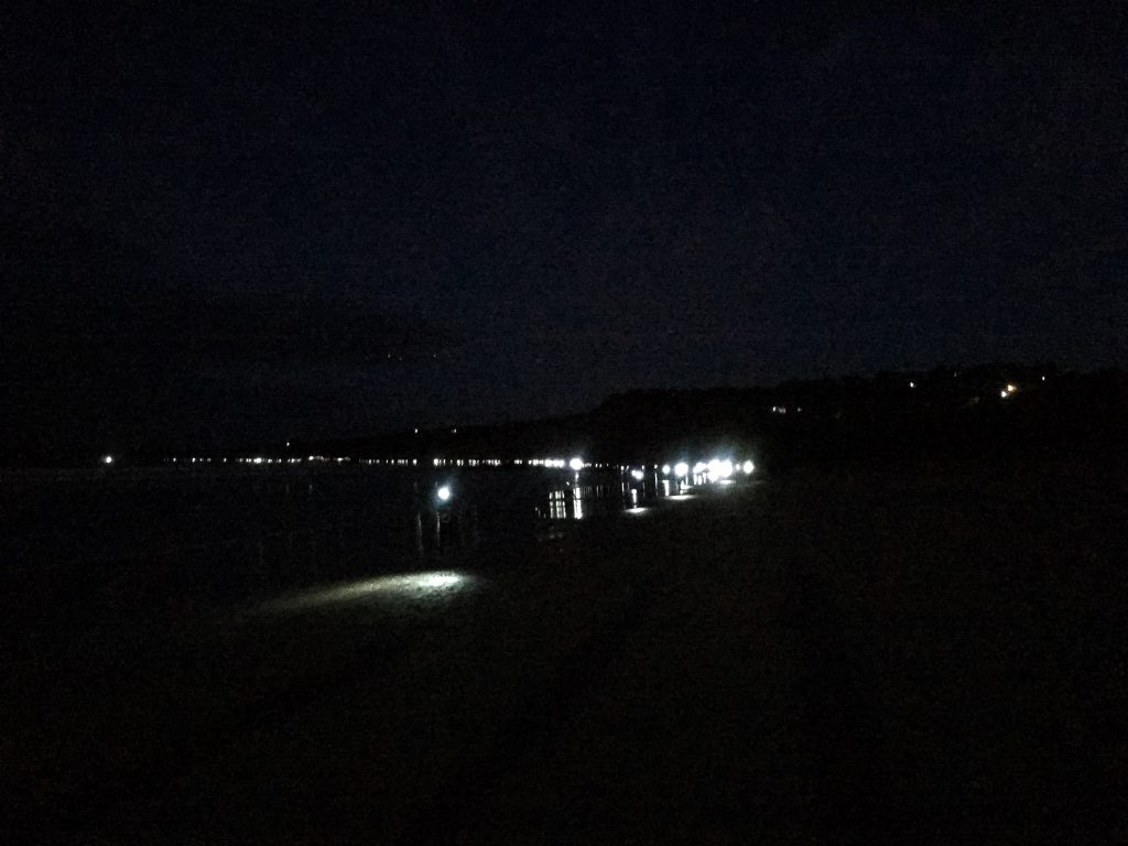 Surf Coast Century Race Start Head Torches