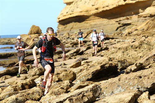 Surf Coast Century rock scrambling