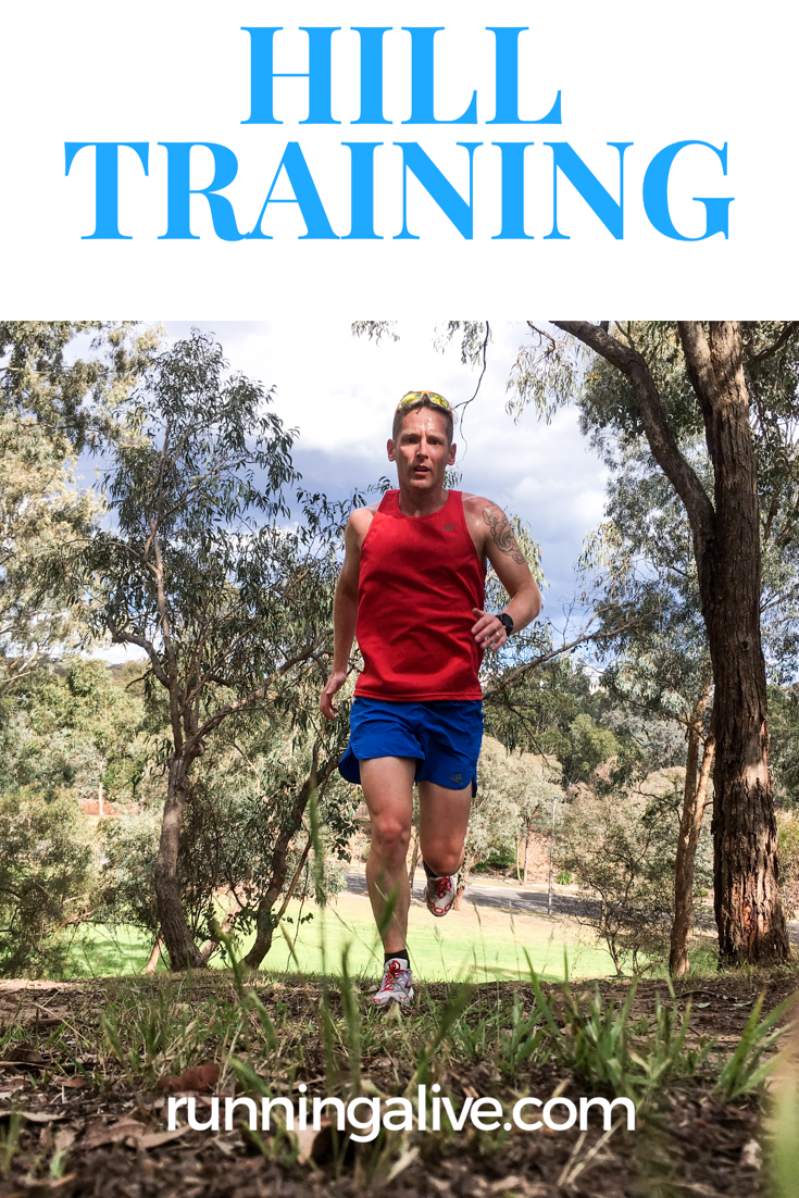 Hill Training Running Alive