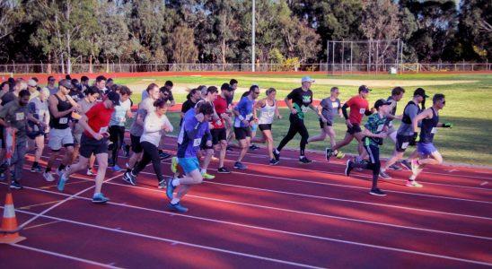 Coburg Half Marathon Start