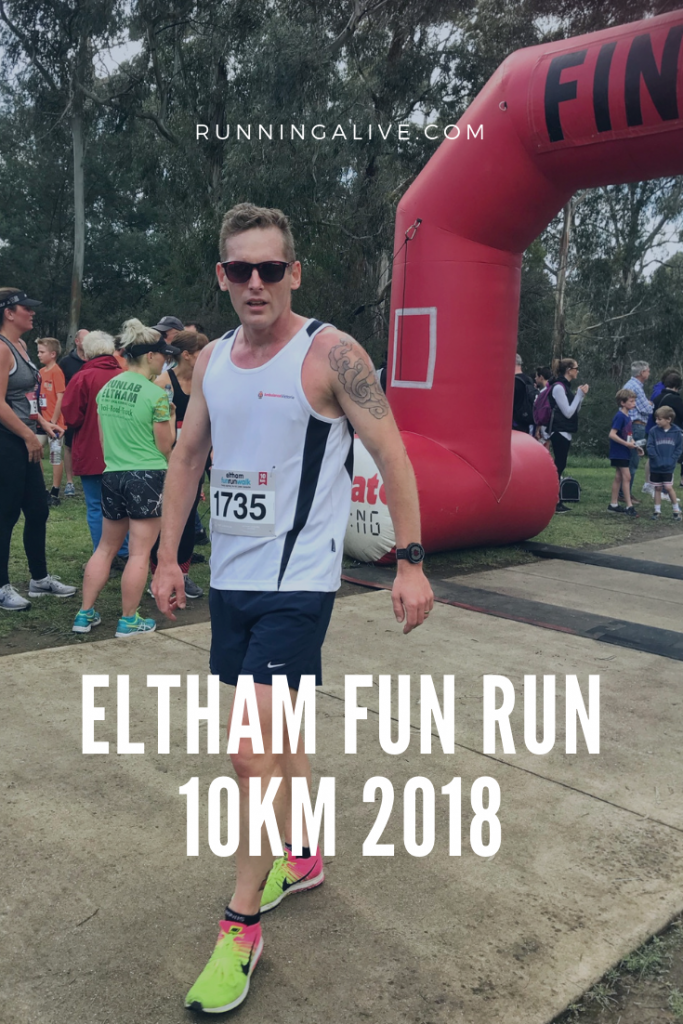 10km fun run Eltham Fun Run 2018