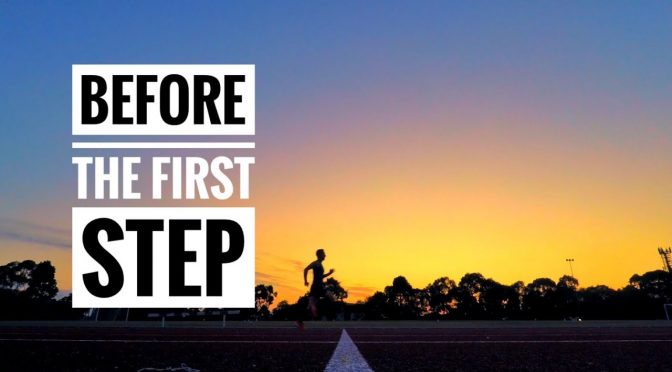 Before The First Step Of Running: Returning After Time Off