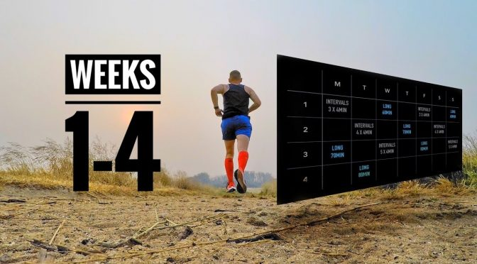 4 Week Running Plan: How I Set Training